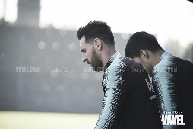 El Barça se entrena con el regreso de Wagué y los 'sudamericanos'