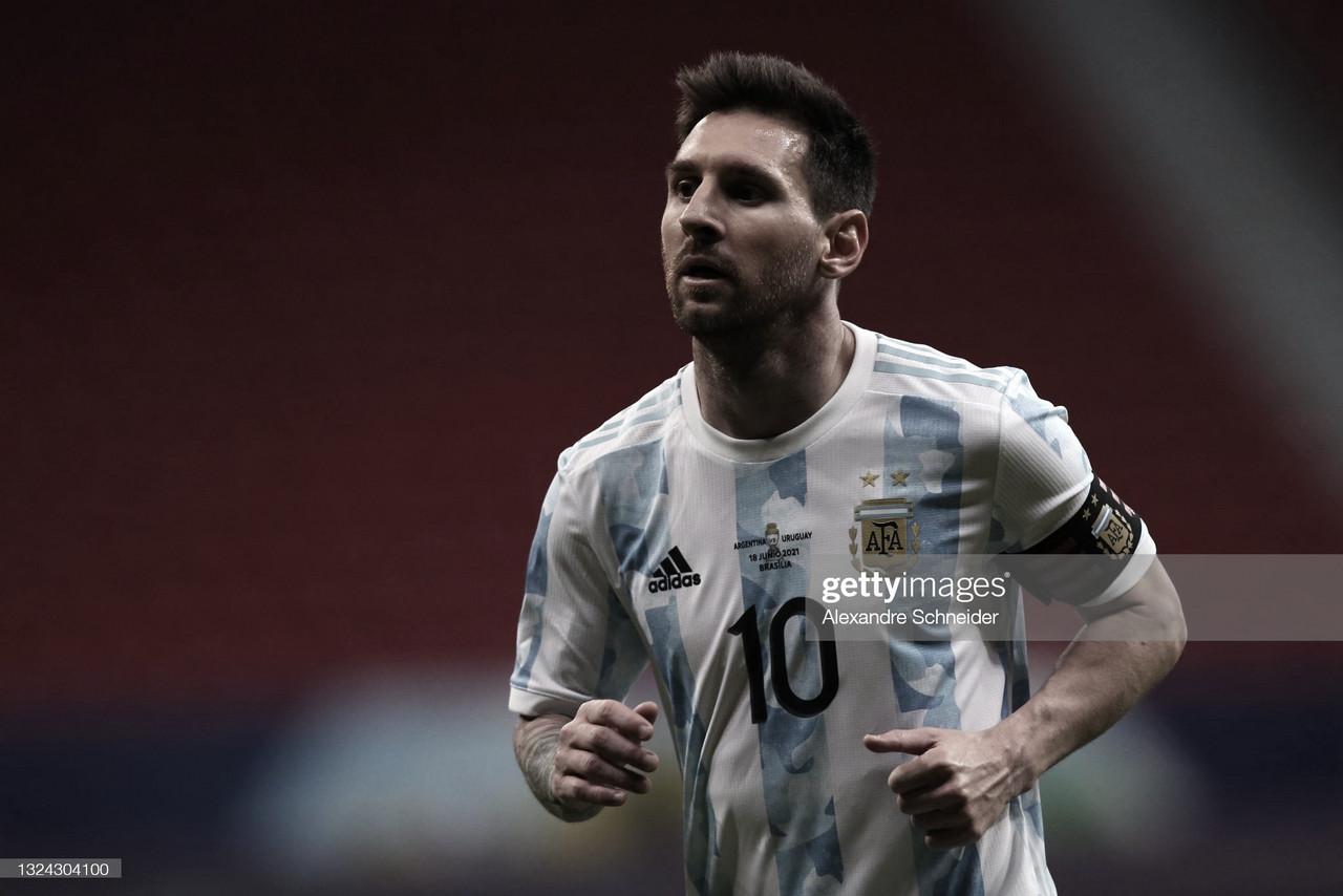 Lionel Messi: Asistencia y figura
