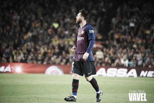 Messi iguala a Kubala en Copa del Rey
