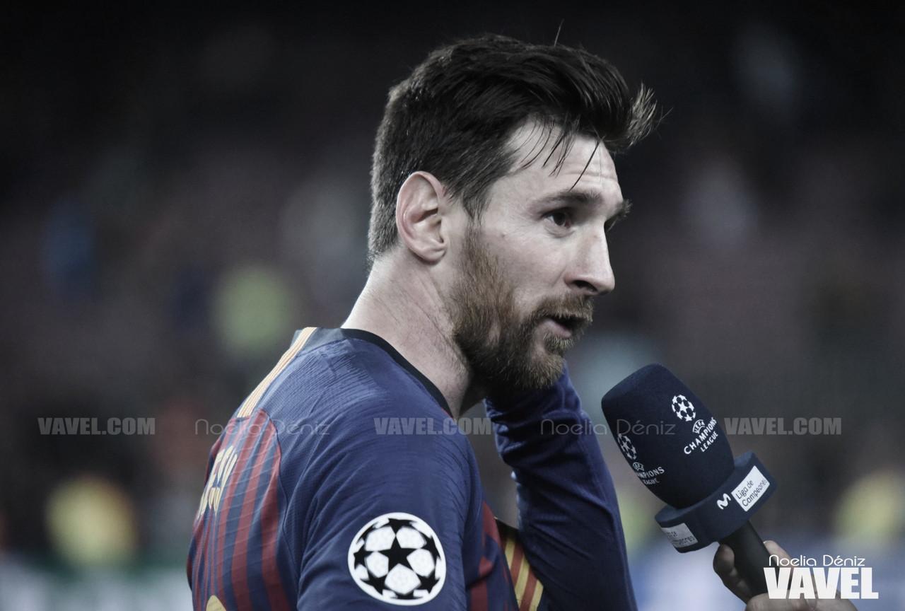 """Lionel Messi: """"Terminé la temporada más cansado y frustrado desde la cabeza"""""""