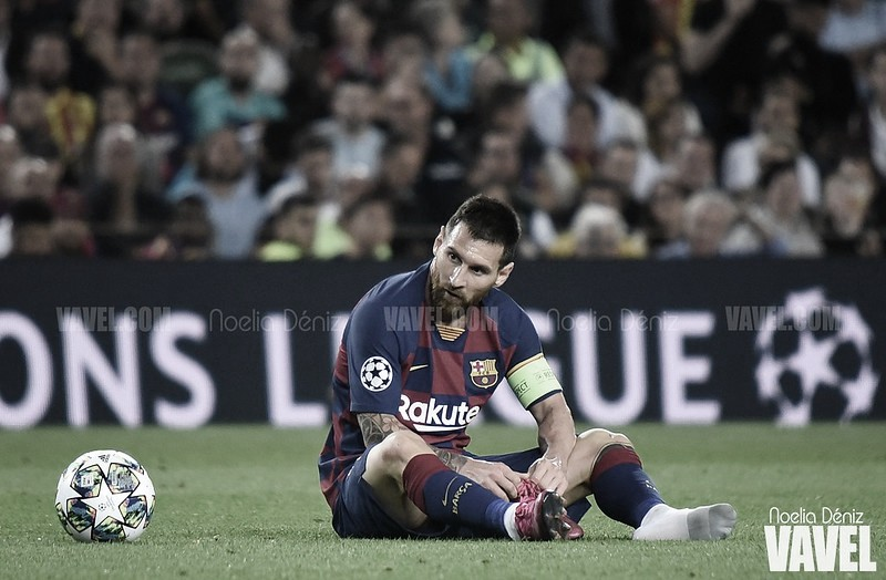 Leo Messi en Champions League | Foto: VAVEL