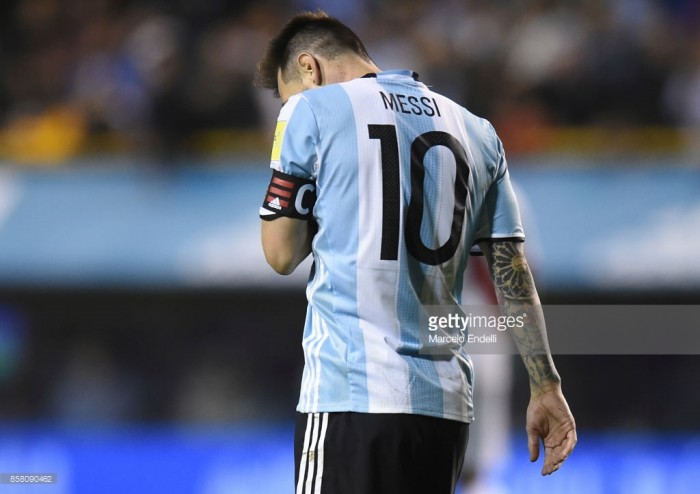 Lionel Messi's World Cup dreams on a knife edge as Argentina fail to beat Peru