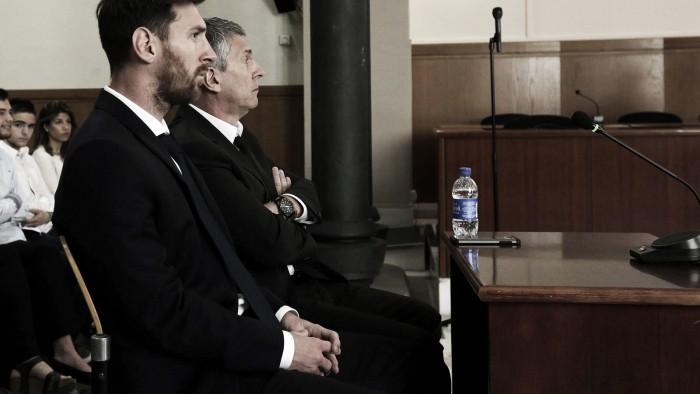 La condena de Messi