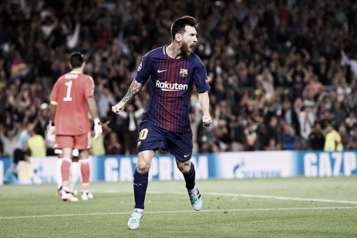 Messi quebra tabu sobre Buffon, Barça bate Juventus e estreia bem na Champions