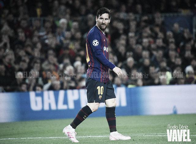 Messi, el segundo jugador azulgrana con más partidos en Champions