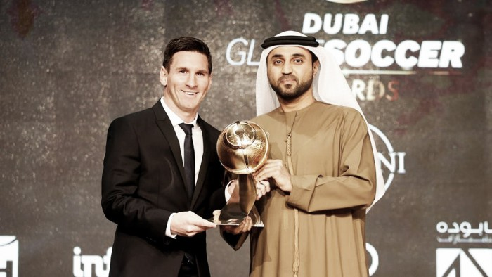 Global Soccer Awards, Bartomeu si gode Messi e punta Denis Suarez