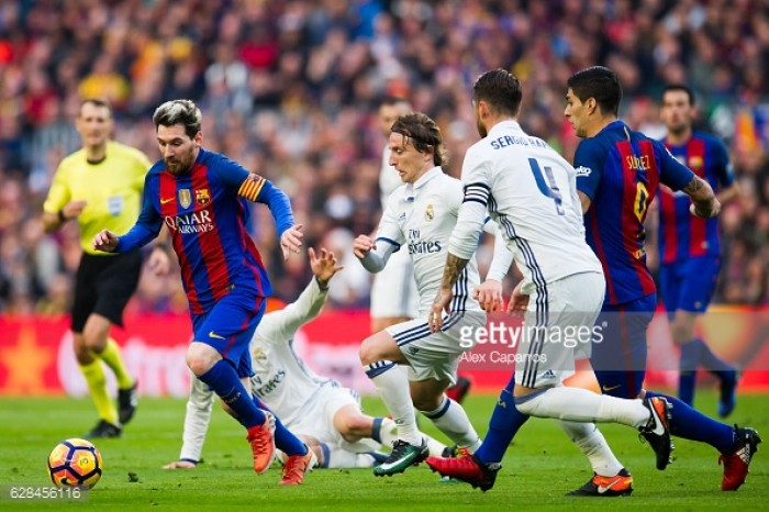 Milestone man Messi puts on sensational Clasico display
