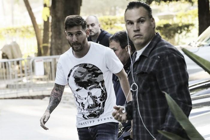 Messi ya está en Estados Unidos