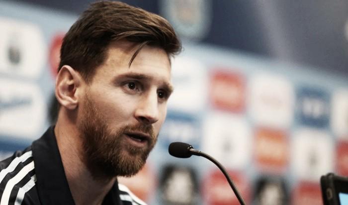 """Messi: """"Después del domingo hablo de la AFA"""""""