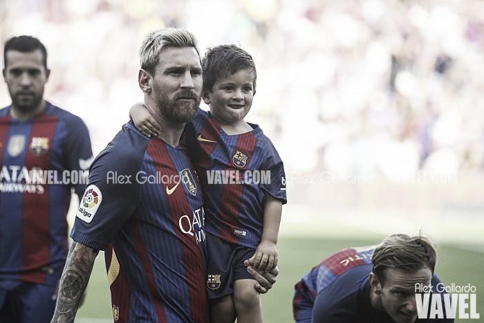 Messi se convierte en el máximo anotador de la historia en casa