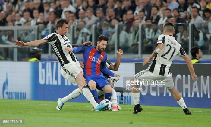 Juventus stand firm to eliminate Barca out of Champions League
