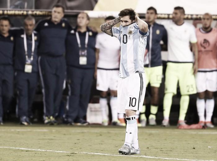 """Copa America Centenario, Messi vuole lasciare: """"La mia avventura con la nazionale termina qui"""""""