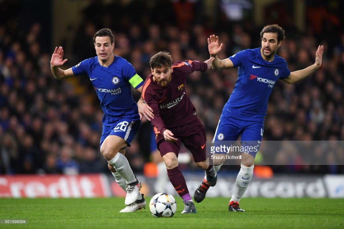 Champions League Live: Text score updates as Chelsea hold Barcelona for draw and Bayern thump Besiktas
