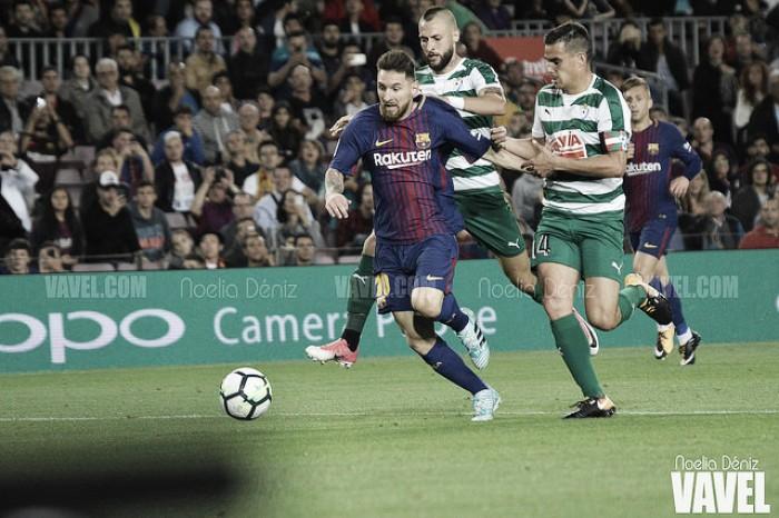 El Éibar, presa fácil para Messi