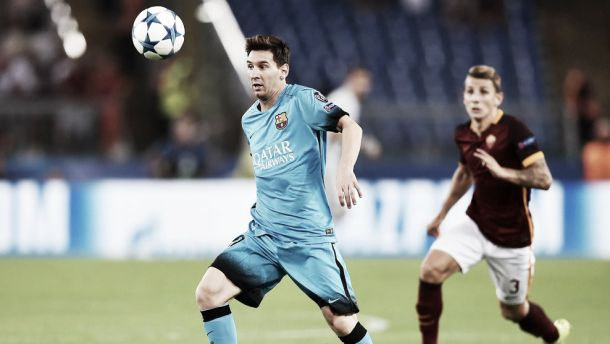 AS Roma 1-1 Barcelona: Florenzi screamer leaves Messi and co frustrated
