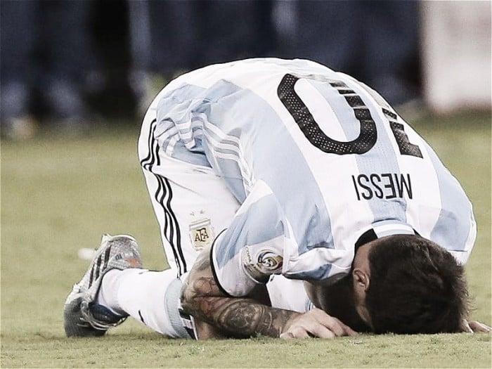 """Messi: """"Para mí se terminó la Selección"""""""