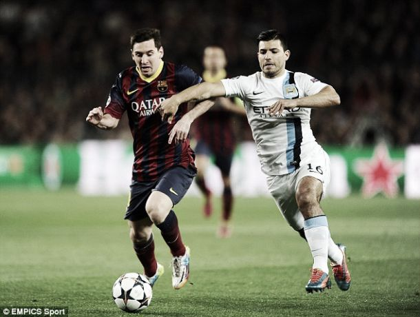 Can Sergio Aguero rediscover his blistering form against Barcelona?