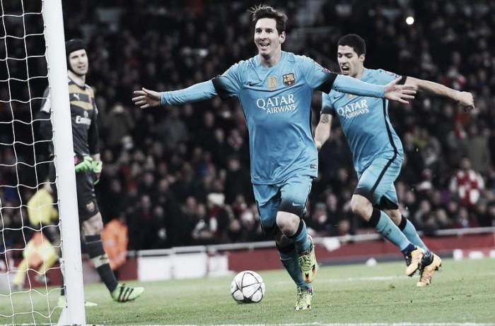 Messi lo hizo otra vez
