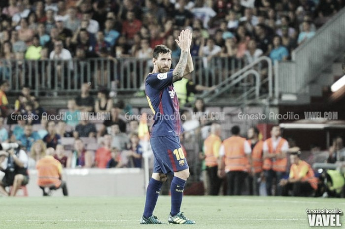 Messi, máximo goleador de la Supercopa de España