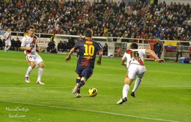Resultado Rayo Vallecano vs Barcelona en Primera División 2014 (0-4)