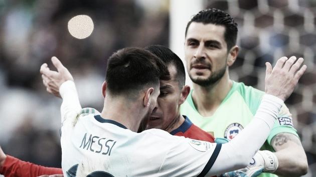 Messi é expulso, Argentina vence Chile e fica em terceiro na Copa América