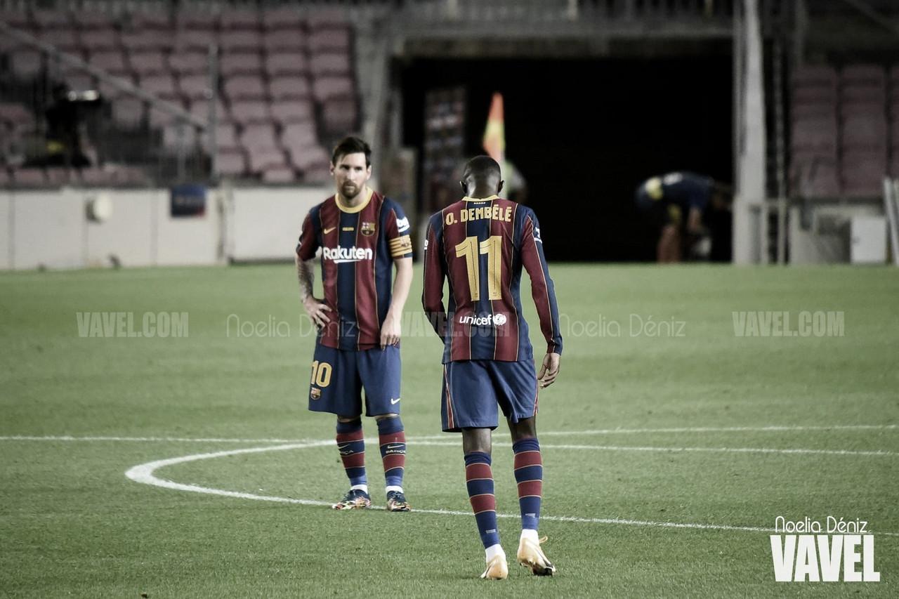 Messi y Dembélé protagonizan grandes actuaciones de Champions League | Foto: Noelia Déniz - VAVEL