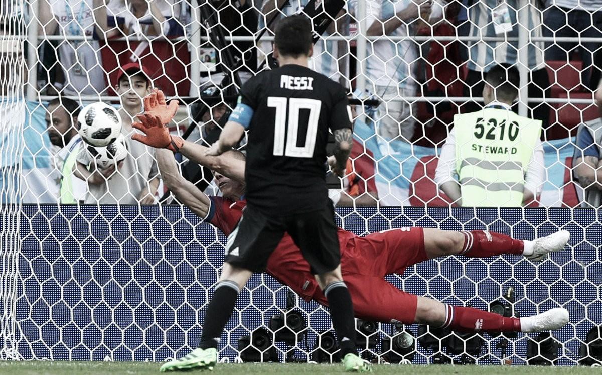 Messi y Argentina, no pudieron con Islandia