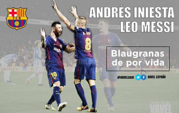 Messi e Iniesta, una vida tejiendo sueños de azulgrana