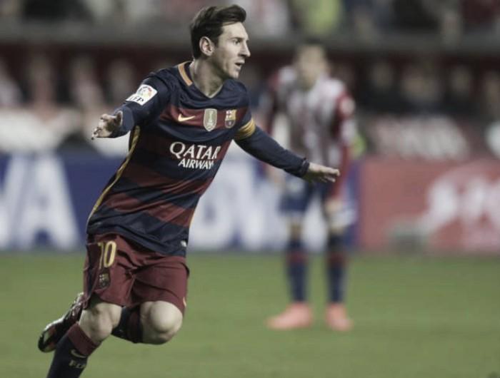 Sporting de Gijón 1-3 FC Barcelona: Blaugrana continue their sensational run
