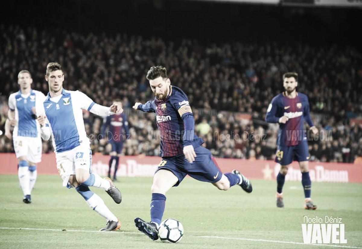Leo Messi, elegido mejor jugador de LaLiga en el mes de abril