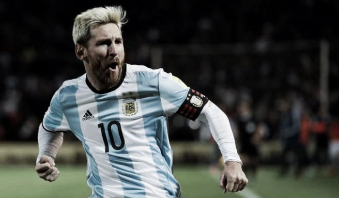 Eliminatorias a Rusia 2018: Messi lleva a la Argentina al liderato