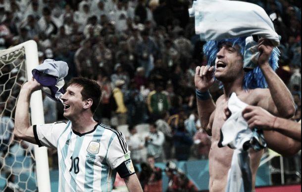 Argentina a um jogo do Ouro Brasileiro (2-4, G.P.)