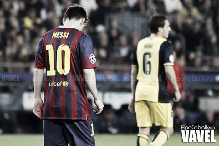 Messi, mejor jugador de la Liga BBVA en enero