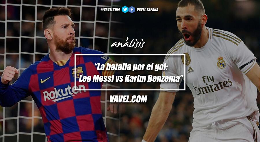 La batalla por el gol: Leo Messi vs Karim Benzema