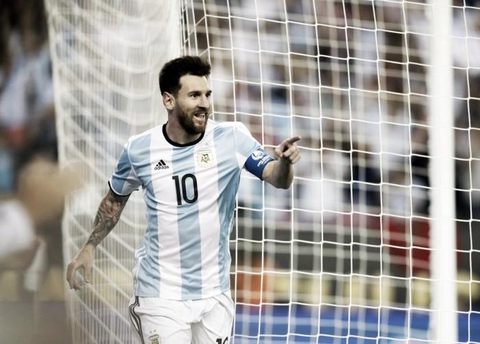 """Messi: """"La cabeza está puesta en levantar la copa"""""""