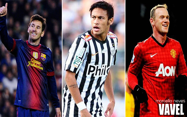 Jornal afirma que Barcelona deseja formar ataque com Messi, Neymar e Rooney
