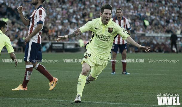Atlético x Barcelona: Barça sagra-se 'campéon' com tiro de Messi