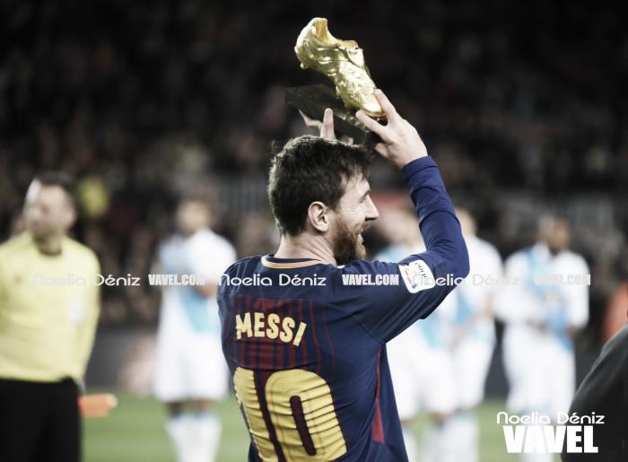 Leo Messi, un año más en el once del año de la UEFA