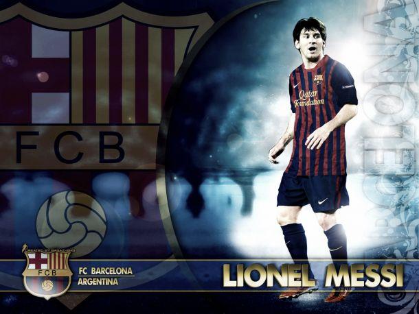 Messi volta a entrar na história do Barcelona