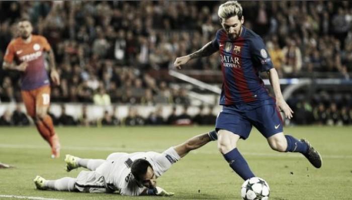 Messi anota mais um hat-trick, Barça goleia City e abre vantagem na liderança do grupo