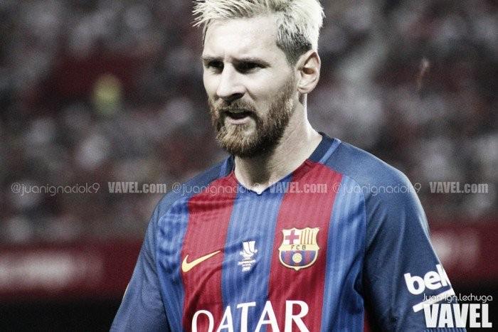 El inicio de Messi