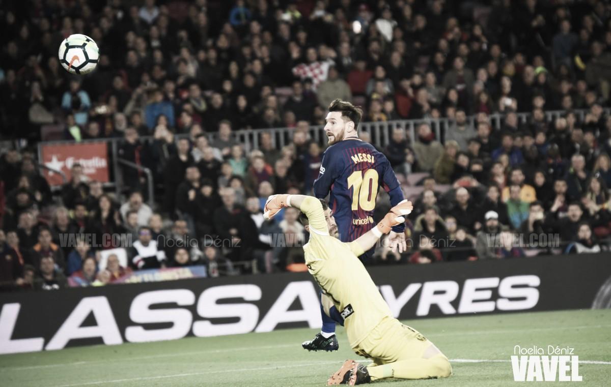 La Pizarra: hat-Trick de un Messi Imperial liquidó al Leganés