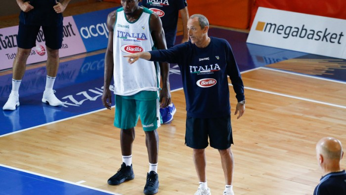 Basket: Italia travolge la Bielorussia nella Trentino Cup