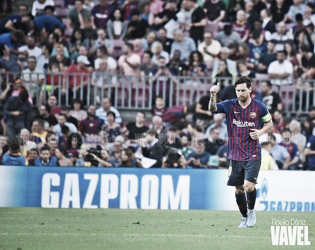 Leo Messi vuelve como se fue