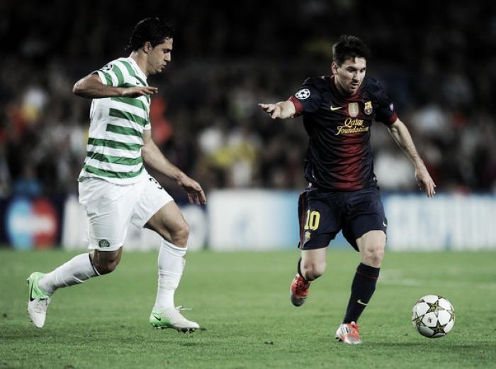 Protagonistas de confrontos memoráveis, Celtic e Barcelona se enfrentam pela Champions Cup
