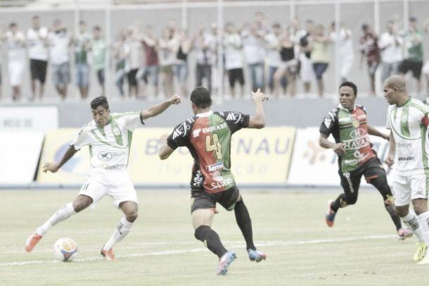 Brusque goleia o Metropolitano e entra no G-4 do Catarinense