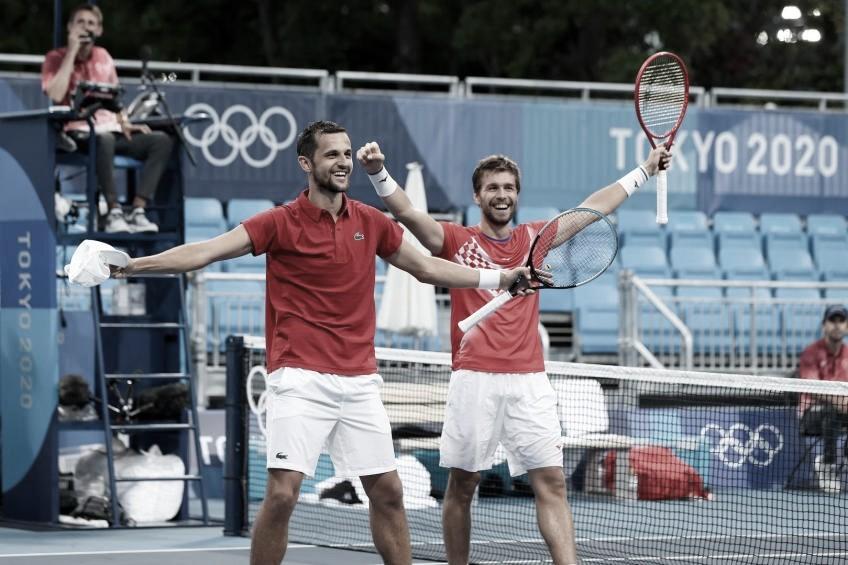 Mektic y Pavic, campeones en dobles olímpico