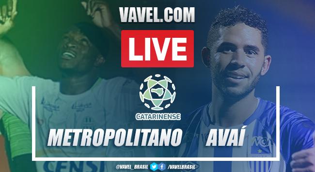 Gol e melhores momentos de Metropolitano x Avaí pelo Campeonato Catarinense 2021 (0-1)