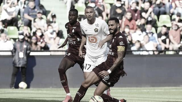 Em jogo maluco, Lille busca empate contra Metz nos acréscimos na estreia da Ligue 1