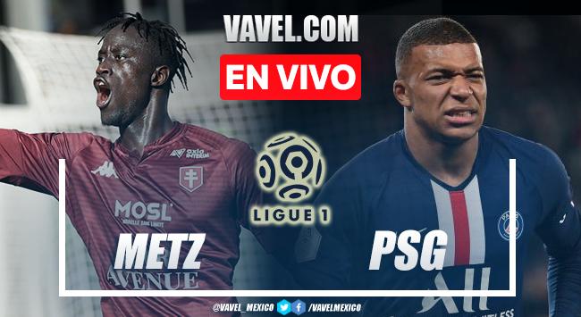 Goles y resumen del Metz 1-2 PSG en Ligue 1 2021